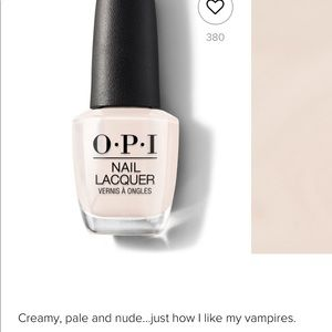 OPI Makeup - OPI (3) My Vampire is Buff (2) + Base Coat Clear